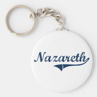 Diseño clásico de Nazaret Pennsylvania Llavero