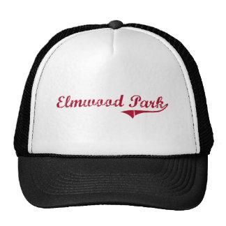 Diseño clásico de New Jersey del parque de Elmwood Gorras