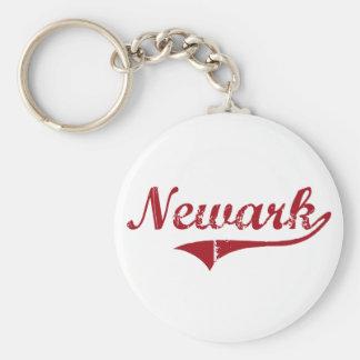 Diseño clásico de Newark Ohio Llavero Redondo Tipo Pin
