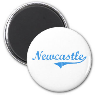 Diseño clásico de Newcastle Maine Imán Redondo 5 Cm