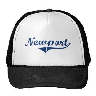 Diseño clásico de Newport Rhode Island Gorras De Camionero