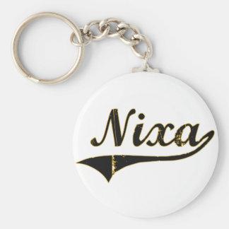 Diseño clásico de Nixa Missouri Llavero Redondo Tipo Pin