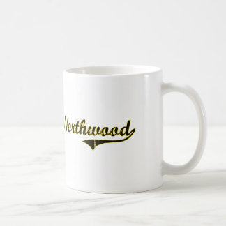 Diseño clásico de Northwood Iowa Taza Clásica