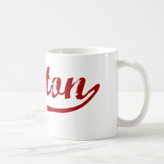 Diseño clásico de Norton Massachusetts Taza De Café
