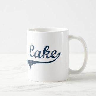 Diseño clásico de Nueva York del lago Tupper Taza De Café