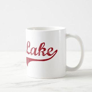 Diseño clásico de Ohio del lago de plata Taza