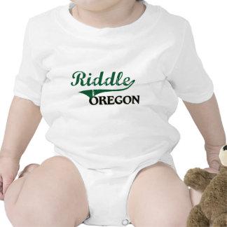 Diseño clásico de Oregon de la criba Camisetas