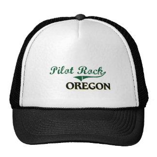 Diseño clásico de Oregon de la roca experimental Gorros Bordados