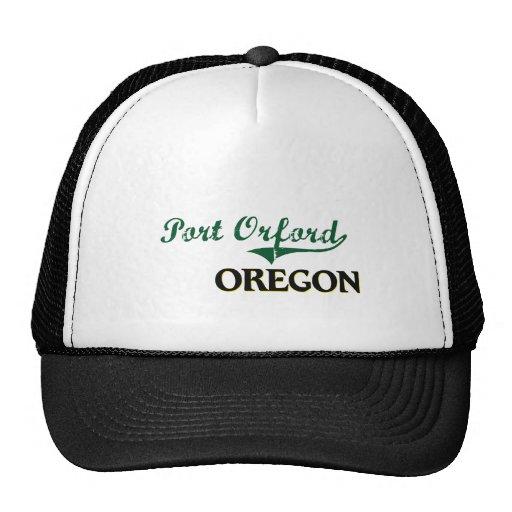 Diseño clásico de Orford Oregon del puerto Gorra