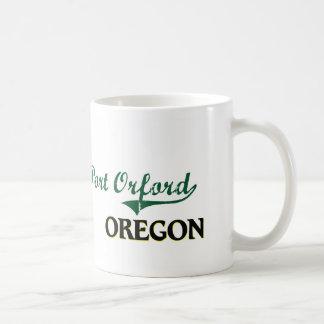 Diseño clásico de Orford Oregon del puerto Taza De Café