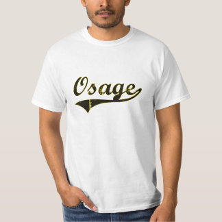 Diseño clásico de Osage Iowa Remera