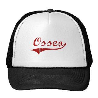 Diseño clásico de Osseo Wisconsin Gorras