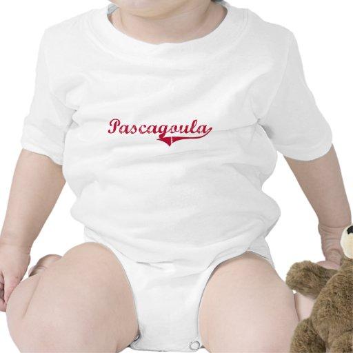 Diseño clásico de Pascagoula Mississippi Camisetas