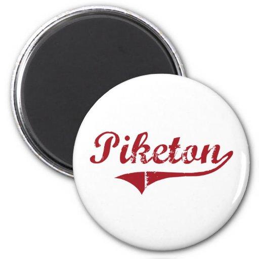 Diseño clásico de Piketon Ohio Iman