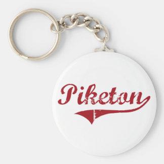 Diseño clásico de Piketon Ohio Llaveros Personalizados