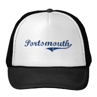 Diseño clásico de Portsmouth Rhode Island Gorras De Camionero