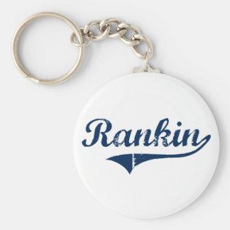 Diseño clásico de Rankin Pennsylvania Llavero Redondo Tipo Pin