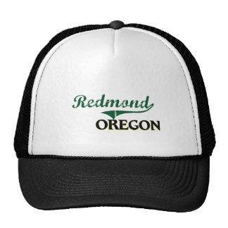 Diseño clásico de Redmond Oregon Gorras