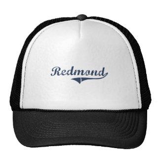 Diseño clásico de Redmond Utah Gorro De Camionero