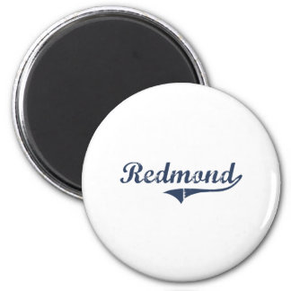 Diseño clásico de Redmond Utah Imán Redondo 5 Cm