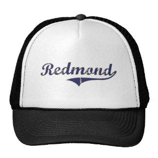 Diseño clásico de Redmond Washington Gorras