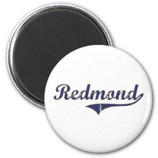 Diseño clásico de Redmond Washington Imán Redondo 5 Cm