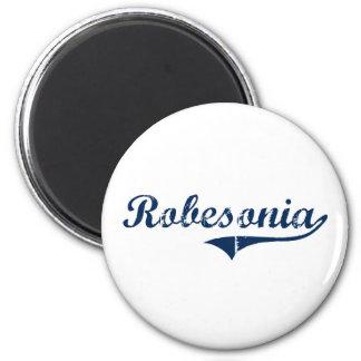 Diseño clásico de Robesonia Pennsylvania Imanes