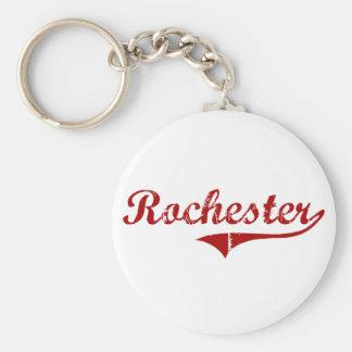 Diseño clásico de Rochester Massachusetts Llavero