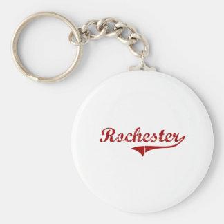 Diseño clásico de Rochester Wisconsin Llavero