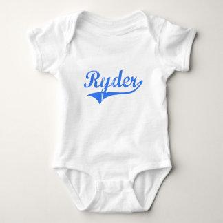 Diseño clásico de Ryder Massachusetts Mameluco De Bebé