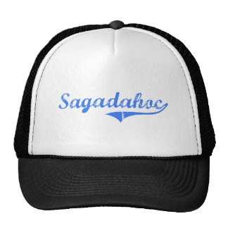 Diseño clásico de Sagadahoc Maine Gorros Bordados