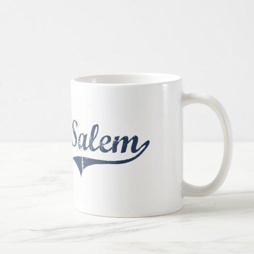Diseño clásico de Salem Utah Tazas De Café