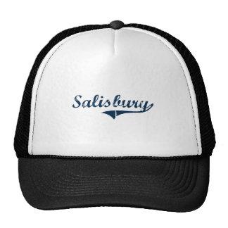 Diseño clásico de Salisbury Connecticut Gorra