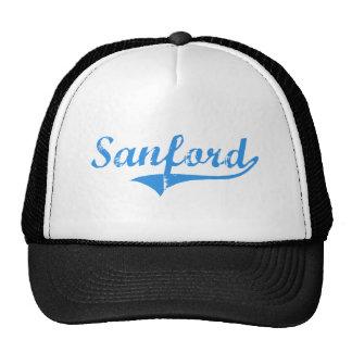 Diseño clásico de Sanford Maine Gorra