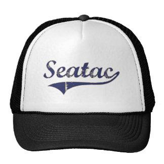 Diseño clásico de Seatac Washington Gorra