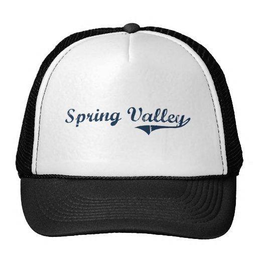 Diseño clásico de Spring Valley Nueva York Gorro