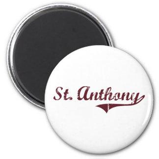 Diseño clásico de St Anthony Minnesota Imanes Para Frigoríficos