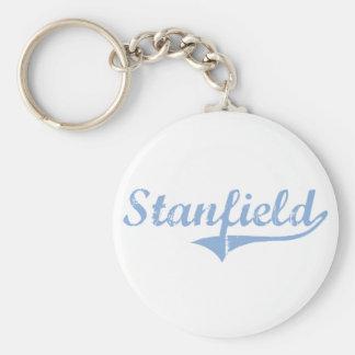 Diseño clásico de Stanfield Carolina del Norte Llavero Personalizado