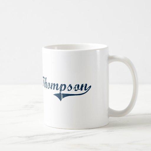 Diseño clásico de Thompson Connecticut Tazas