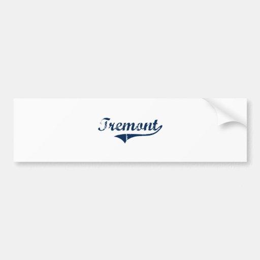 Diseño clásico de Tremont Pennsylvania Etiqueta De Parachoque