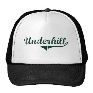 Diseño clásico de Underhill Vermont Gorros Bordados