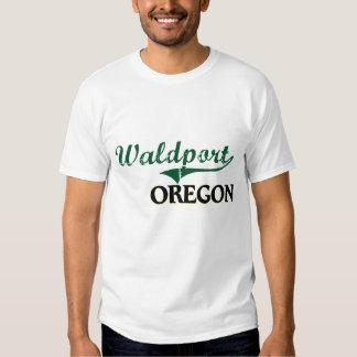Diseño clásico de Waldport Oregon Playera