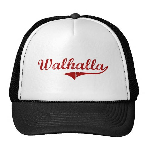 Diseño clásico de Walhalla Carolina del Sur Gorro De Camionero