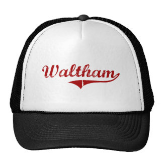 Diseño clásico de Waltham Massachusetts Gorro