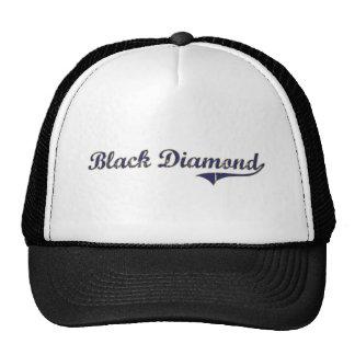 Diseño clásico de Washington del diamante negro Gorros Bordados