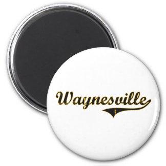 Diseño clásico de Waynesville Missouri Imán Redondo 5 Cm