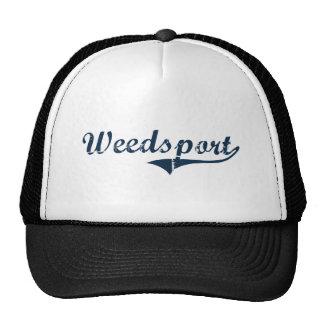 Diseño clásico de Weedsport Nueva York Gorro De Camionero