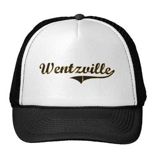 Diseño clásico de Wentzville Missouri Gorras De Camionero