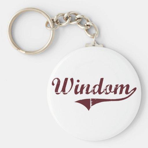 Diseño clásico de Windom Minnesota Llavero Personalizado
