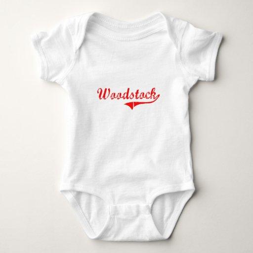 Diseño clásico de Woodstock Georgia Remera